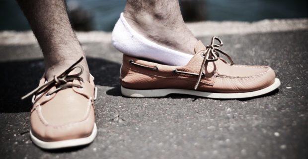мокасины коричневые со шнуровкой
