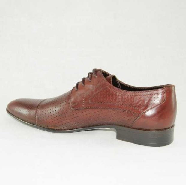 классические туфли летние коричневые