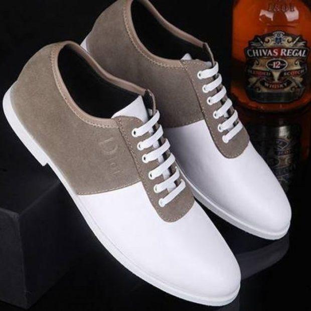 классические туфли летние белые с серым замша