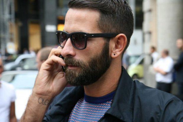 густая борода не большая