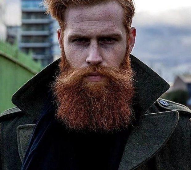 борода скайрим рыжая