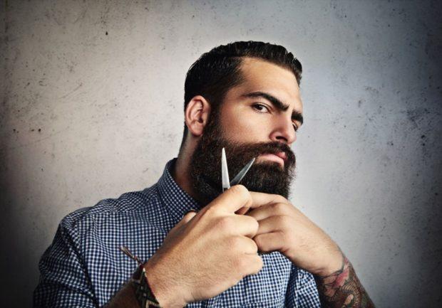 густая борода черная