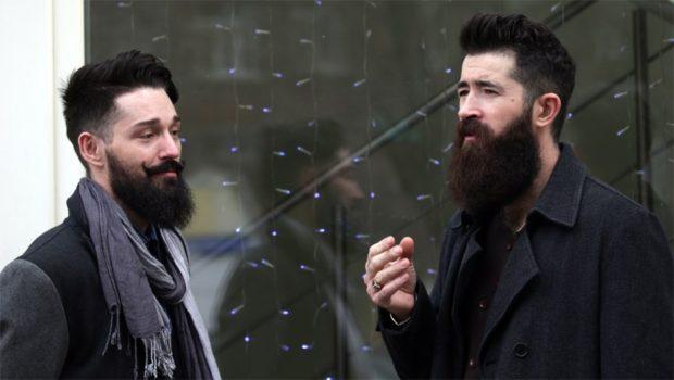густые бороды с усами
