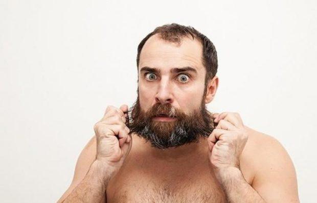 борода густая