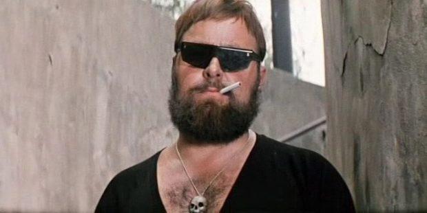 байкерская борода с усами
