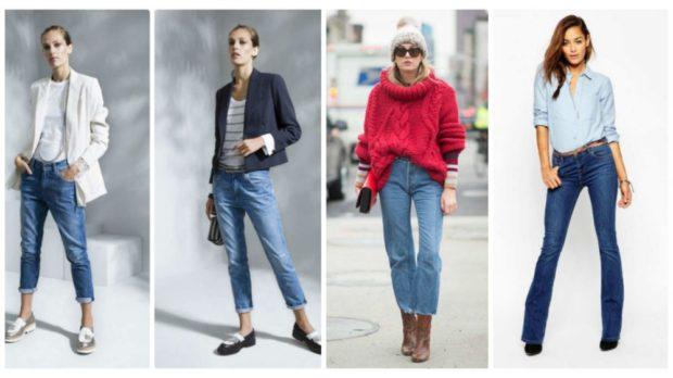 короткие джинсы синие клеша