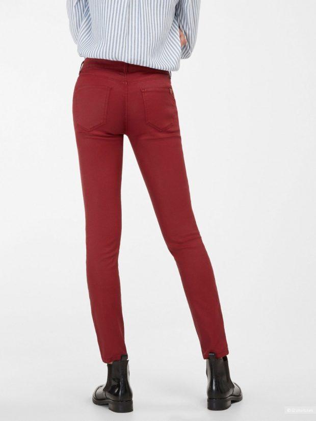джинсы кирпичные