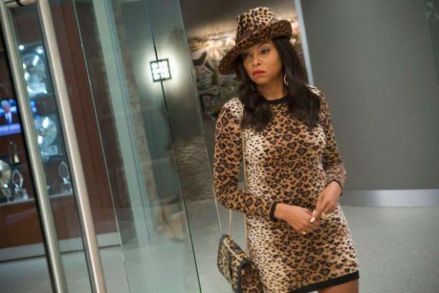 модные принты 2018 2019 года в одежде: платье леопардовое длинный рукав шляпа в тон