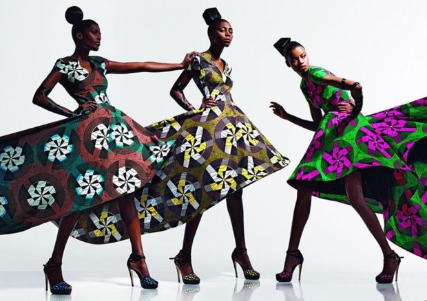модные принты 2018 2019: платья в яркие цветы