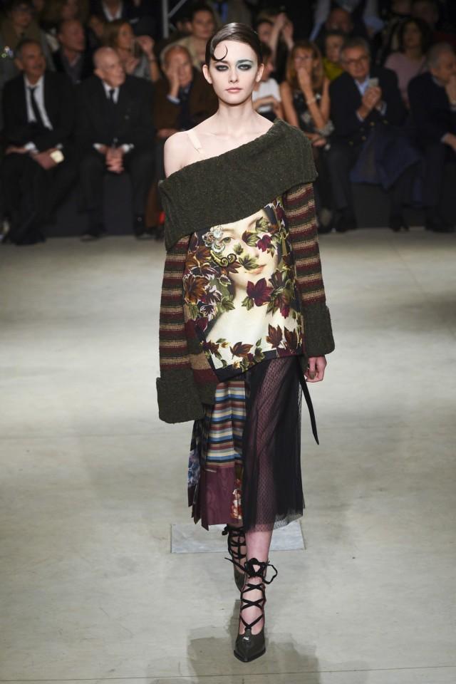 Модные принты осень зима 2019 2020: платье