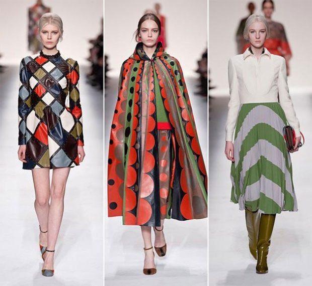Модные принты осень зима 2019 2020: платья