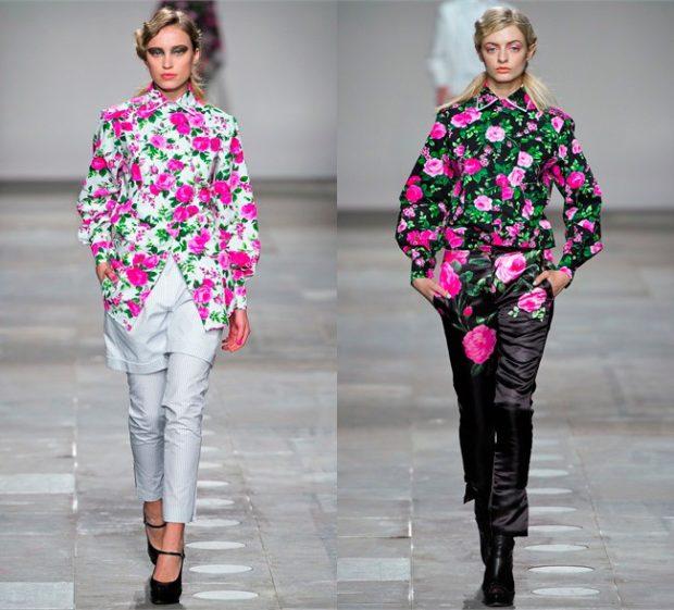 пиджаки яркие в цветы