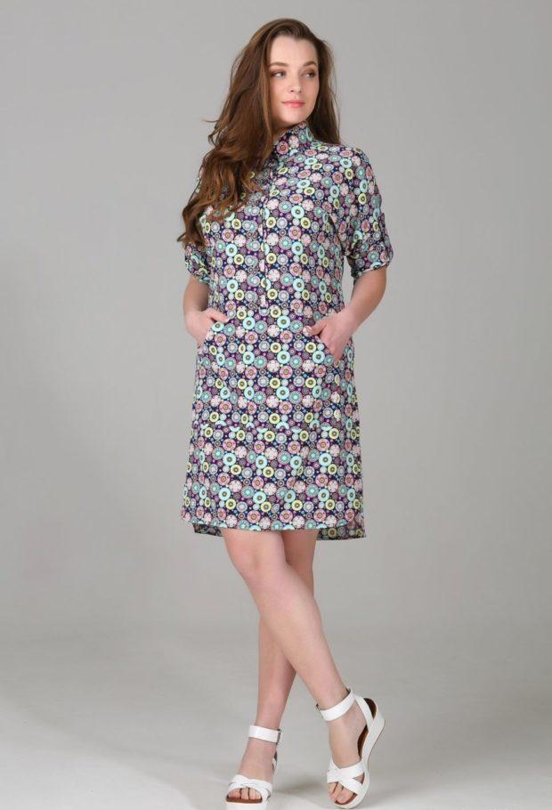 платье в круги