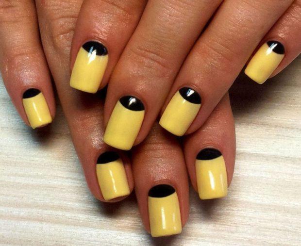 яркий желтый с черным
