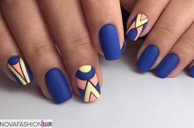 синий оригинальный