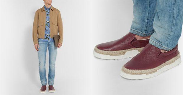 голубые классические джинсы под куртку