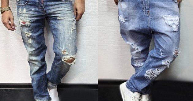 Мужские модные джинсы 2019-2020: фото.