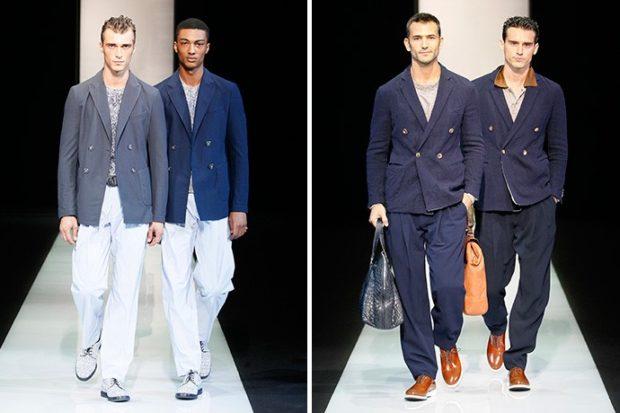 костюмы классика синие пиджаки белые брюки синие пиджаки брюки в тон