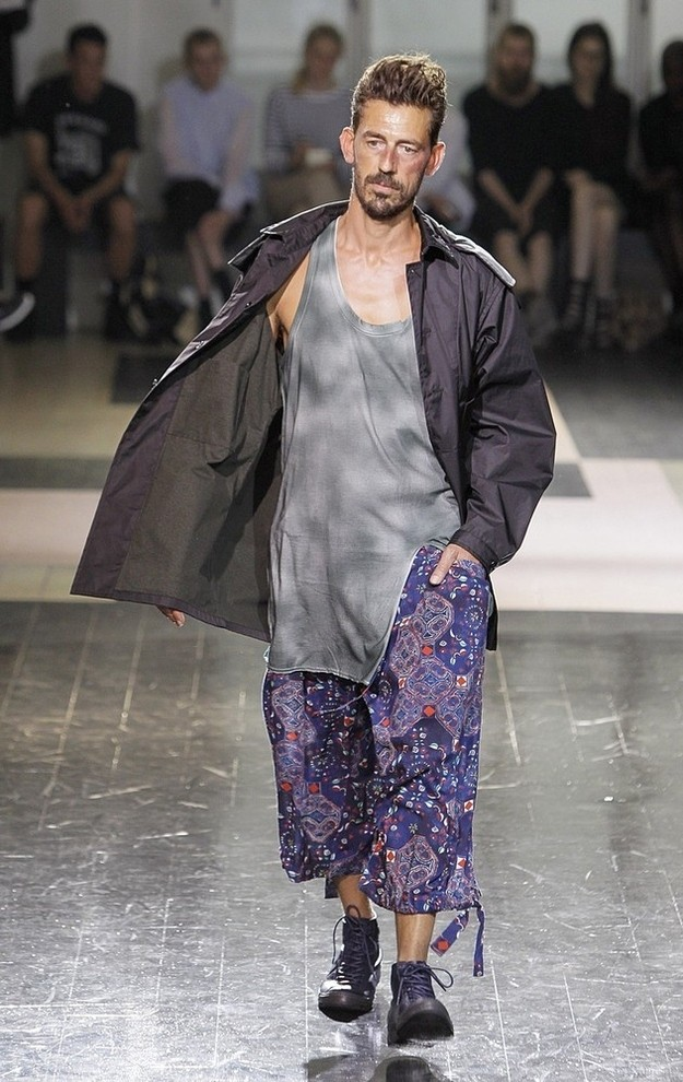 куртка кэжуал штаны широкие цветные