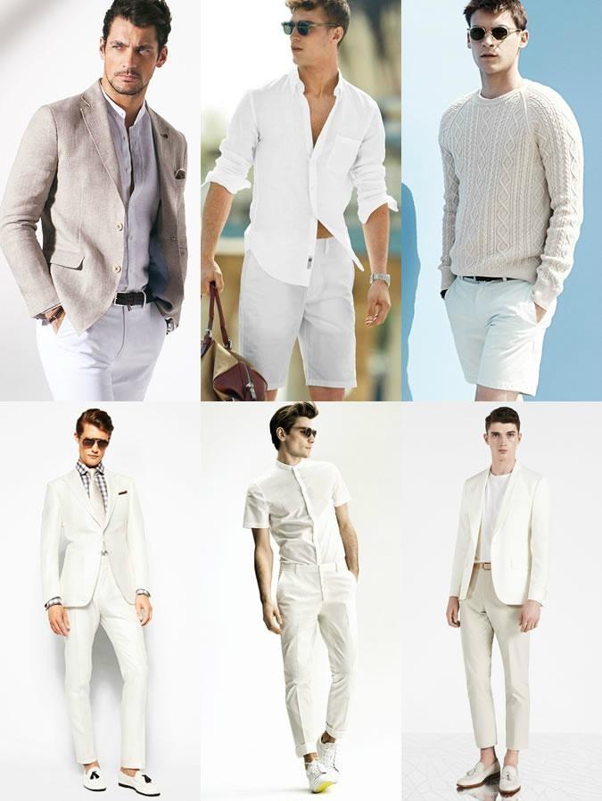 светлые костюмы для путешествия пиджак и брюки рубашка шорты джемпер