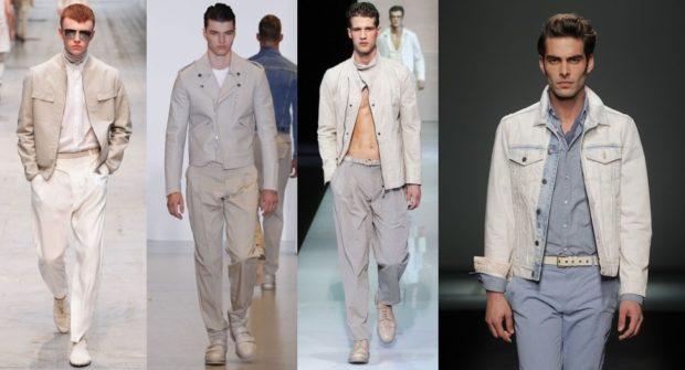 светлые костюмы куртка и штаны пиджак и брюки костюм и курточка
