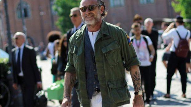 куртка милитари зеленая