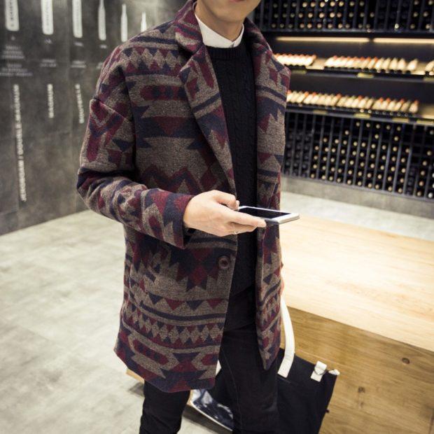 весеннее пальто геометрия