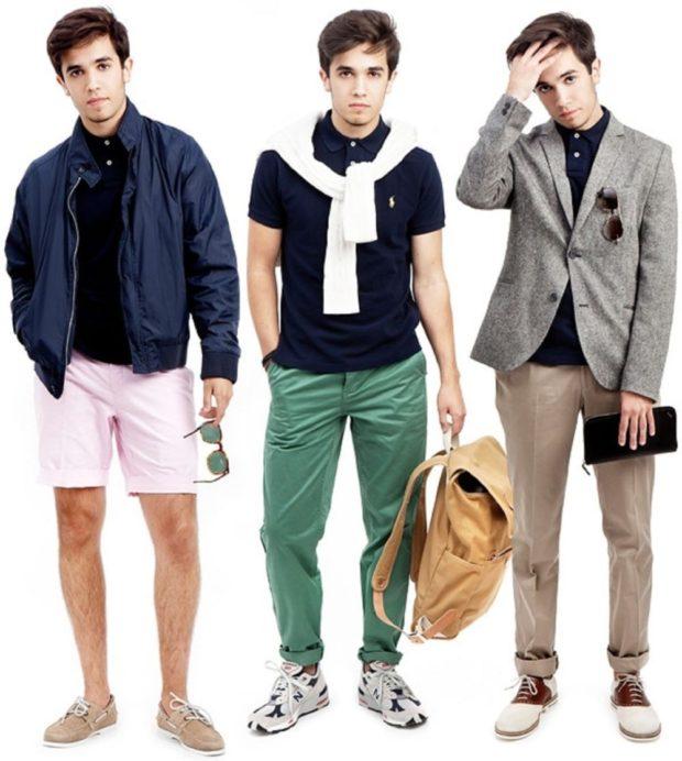 спортивный шик шорты розовые под курточку синюю зеленые штаны под футболку брюки и пиджак кежуал спортивный