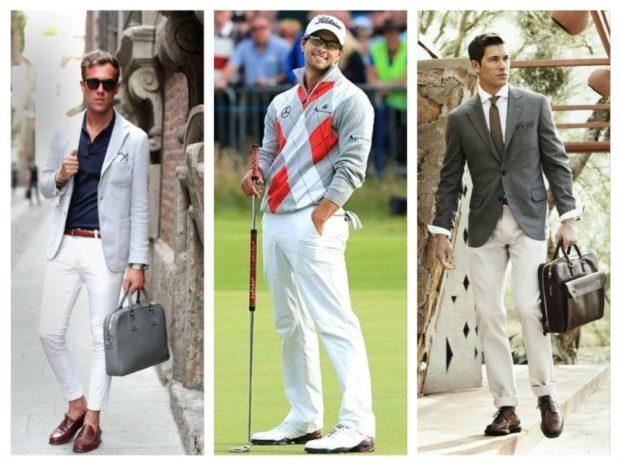 белые штаны короткие под пиджак под джемпер под пиджак серый