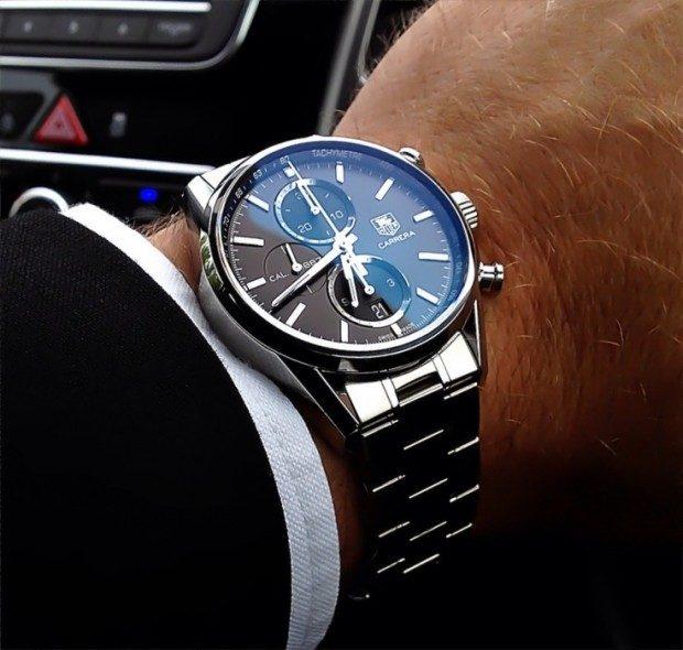 часы классика металлические
