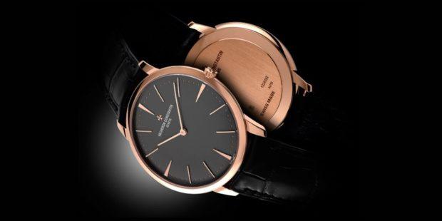 часы классика кожаный ремень золотые