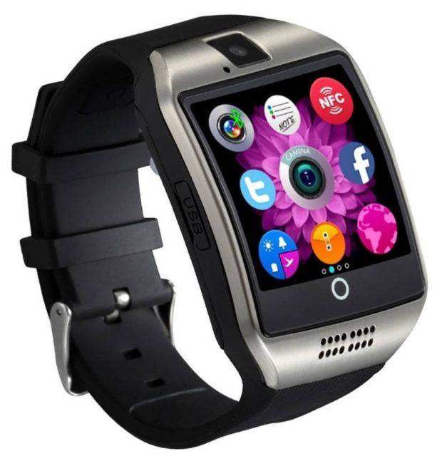 умные часы черные