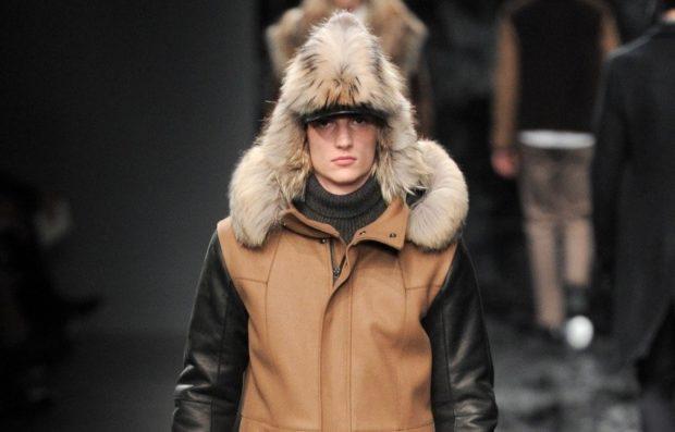 мужские головные уборы зима 2019-2020: шапка ушанка меховая