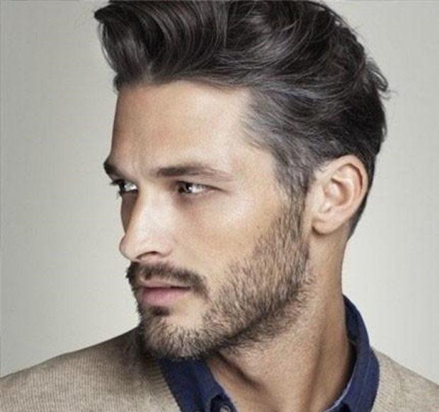 прически мужские: высокая укладка волос