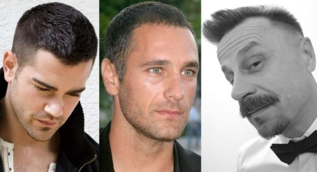 модные мужские стрижки волос тенденции: короткие классика