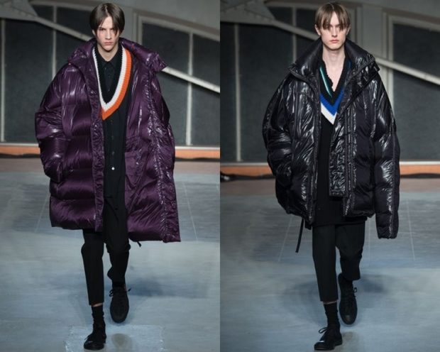 куртки оверсайз объемные сиреневая черная