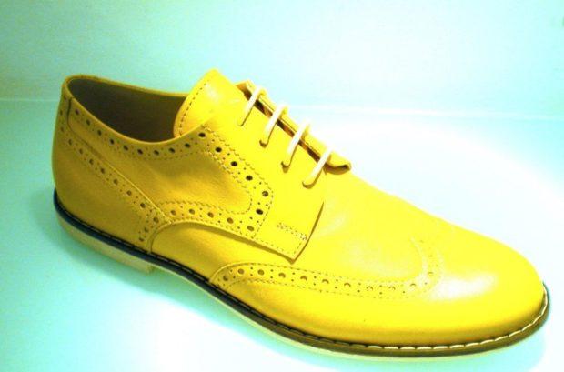 желтые оксфорды