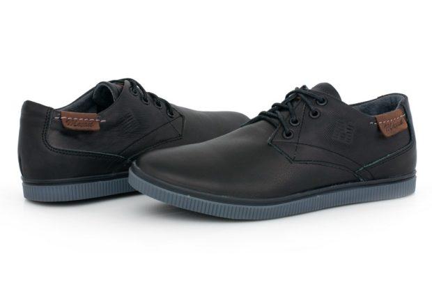 туфли спортивные черные подошва синяя