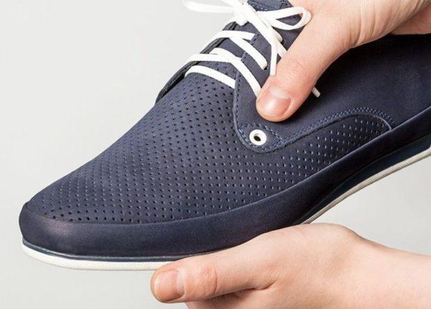 туфли спортивные в сетку синие