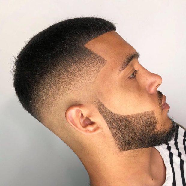 мужская стрижка: короткая
