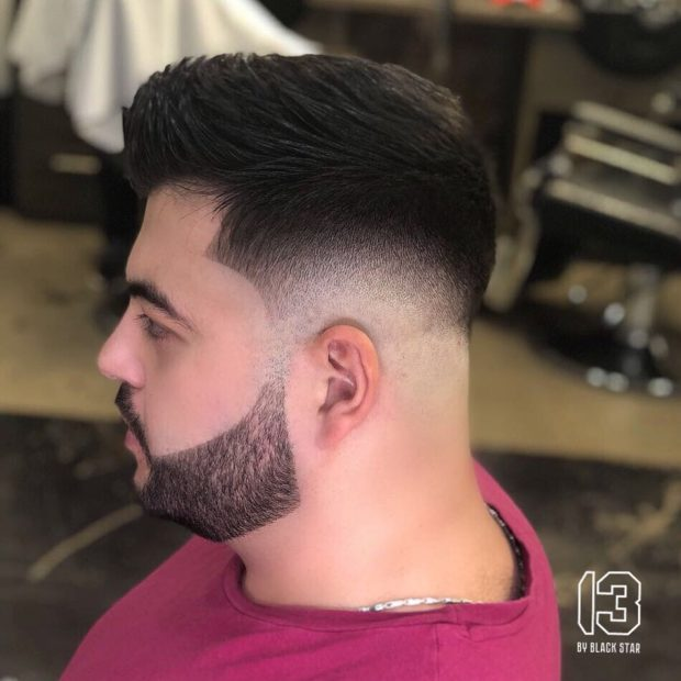 мужская стрижка: с бородой
