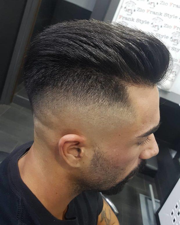 мужская стрижка волос: андеркат