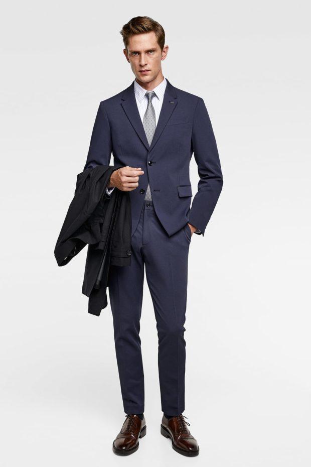 6ac3b3f11ad8 Смотри! Мужские костюмы 2018-2019 года модные тенденции 104 фото