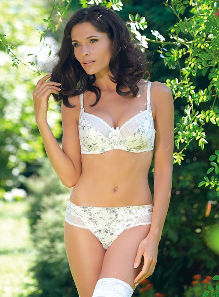 белеь стиль прованс белое в цветочки с бантиком