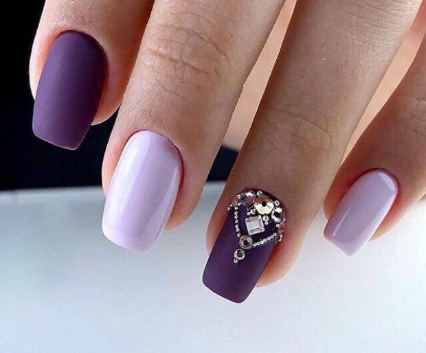 новогодний дизайн ногтей зима 2020 фото новинки