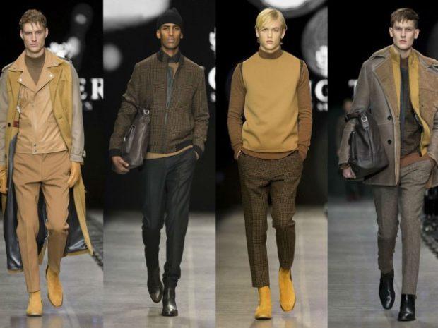 пальто штаны жилетка светло коричневые