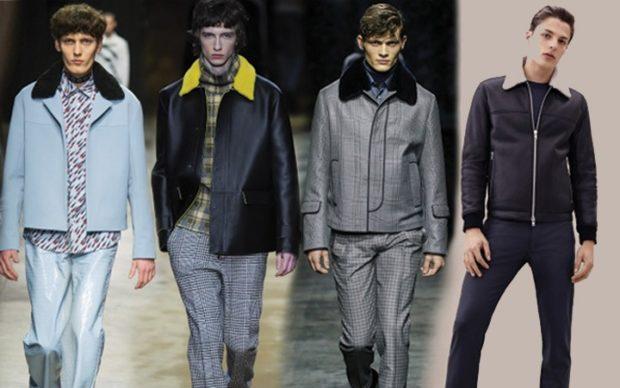 куртки кожаные голубая черная серая с мехом