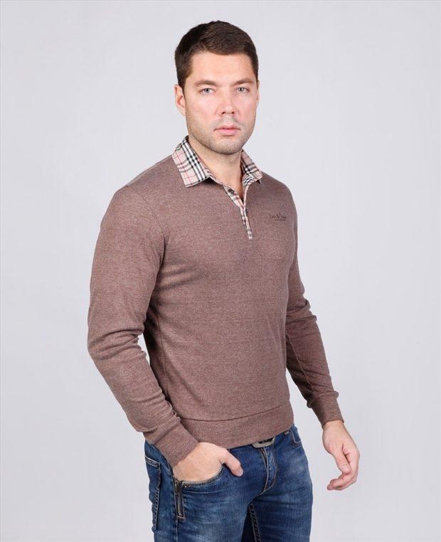 Модная одежда для мужчин 2019-2020: стиль кэжуал кофта джинсы