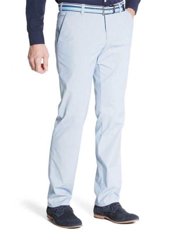 белые повседневные штаны