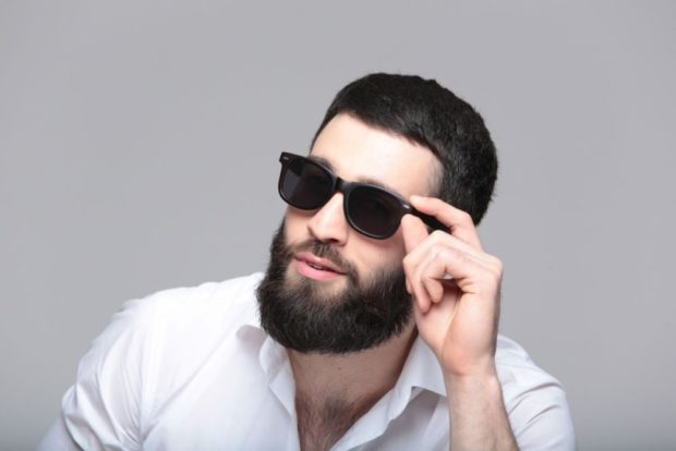 очки черные пластмассовые